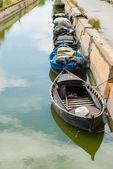 Traditional fishing boats — Stock Photo