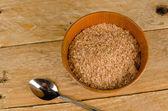 Breakfast bran — Stock Photo