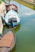 Barcos de pesca tradicionales — Foto de Stock