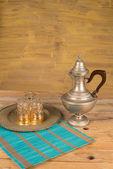 阿拉伯茶静物 — 图库照片
