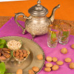 Moroccan ingredients — Stock Photo