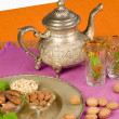 Moroccan ingredients — Stock Photo