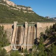 Reservoir dam — Stock Photo