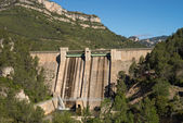 Reservoir dam — Stock Photo