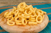 Maize rings — Stock Photo