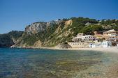 Ruhige costa blanca beach — Stockfoto