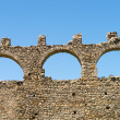 Old aqueduct arches — Stock Photo
