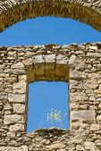 Detalle de la arquitectura antigua — Foto de Stock