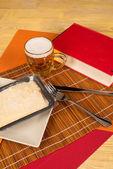 Kit de cena de licenciatura — Foto de Stock