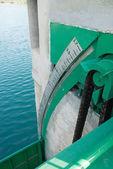 Water gauge — Stock Photo