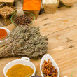 Spice assortment — Stock Photo