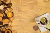 Teatime cookies — Stockfoto