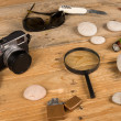 Investigator kit — Stock Photo