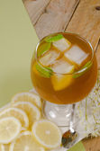 Cold tea — Stock Photo