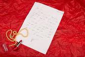 Milostný dopis — Stock fotografie