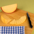 Gouda cheese wedge — Stock Photo