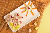 Finto sushi — Foto Stock
