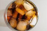 Coca-cola no gelo — Foto Stock