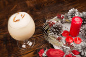 South American Christmas punch — Stock Photo