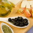 Greek ingredients — Stock Photo