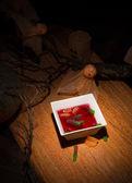 Halloween party dessert — Stock Photo