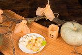 Halloween dessert — Stock Photo