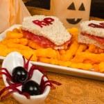 Spooky sandwich — Stock Photo #32774239