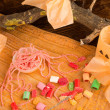 Trick or treat candy — Stock Photo