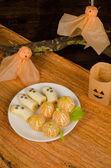 Fruity Halloween — Stock Photo