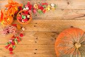 Autumn paty background — Stock Photo
