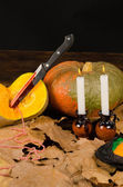 Bodegón de halloween — Foto de Stock