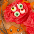 Stock Photo: Assorted Halloween candy