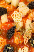 Halloween pasta meal — Foto de Stock