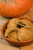 Pumpkin pastry — Stock Photo