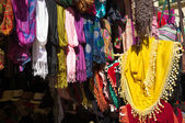 Clothes stall — Stock Photo