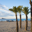 Costa Blanca beach — Stock Photo