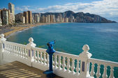 Benidorm bay — Stock Photo