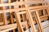 Wooden frames — Stock Photo