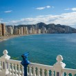 Stock Photo: Benidorm bay