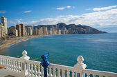 Benidorm bay — Stockfoto