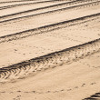Tyre tracks — Stock Photo