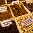 Chocolate stall — Stock Photo
