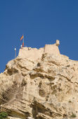 Alicante castle — Stock Photo