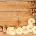 Seasonal food background — Stock Photo #36950183