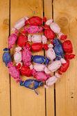 Hemlagad Julkalender — Stockfoto