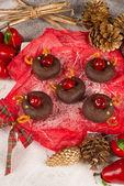 Sweet reindeers — Stock Photo