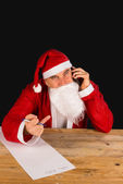 Rude Santa — Stock Photo
