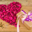 Valentines gift — Stock Photo #38443209