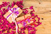 Romantic presents — Stock Photo