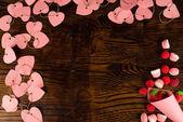 Valentines stilleven — Stockfoto